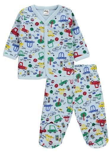 Civil Baby Pijama Takım Mavi